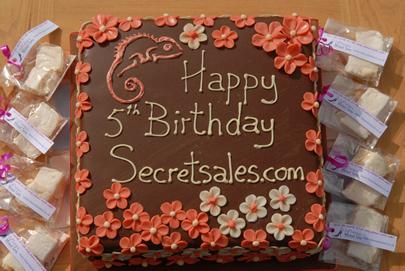 secret sales cake
