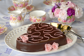 heart cake great taste